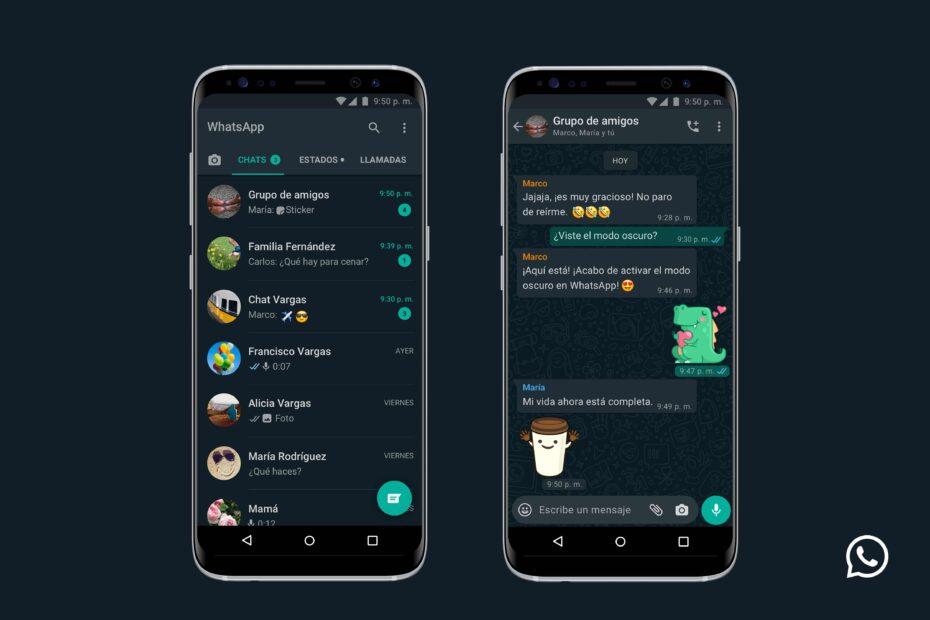 El modo oscuro ya está disponible en iPhone y Android